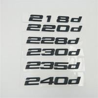 Pour BMW 2 séries E10 F22 F45 F23 F86 218d 220d 228d 230d 235d 240d Retour arrière Boot Logo Script Emblem