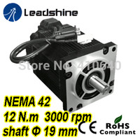 Leadshine Easy Servo Motor (Closed Loop Stepper) 3 상 1103HBM120H-1000 (220 / 230VAC 포함) 12 NM 1000 라인 엔코더