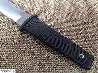 Yeni Geliş Soğuk Çelik 17T KOBUN Survival Stright bıçak Tanto Noktası Saten Blade Utility Bıçak Bıçak Avcılık El Alet Sabit