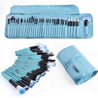 32шт Профессиональный набор кистей для макияжа Макияж порошок кисти красоты косметические инструменты комплект сумка мода