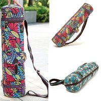 New 1pc Multi- function Print Yoga Bag Waterproof Oxford Canv...