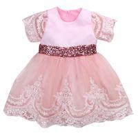 Baby Mädchen Formale Prinzessin Kleid 2019 Neue Mode Vestido Infantil Spitze Bogen Ballkleid Tutu Party Kleider Kind Kleid Für Mädchen 0-7Y