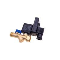 4pcs frete grátis / lot OPT-B / OPT-A válvula solenóide eletrônico purga automática temporizador válvula AC24V / 110V / 220V