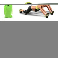AB Wheels Abdominal Wheels Rolstic Abdomler Trainer Stretch Elainal Resistance Pull Rope Tool Multi-Functional Exercise Fitness