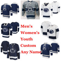 Penn State Nittany Lions Collegio Hockey maglie delle donne di Nate Sucese Jersey Oskar Autio Nikita Pavlychev Connor MacEachern personalizzato cucito