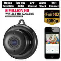 V380 مصغرة واي فاي كاميرا 1080 وعاء اللاسلكية الأمن المنزلية wi-fi كاميرا IP CCTV IR للرؤية الليلية كشف الحركة الطفل مراقب P2P V380 كامكورد