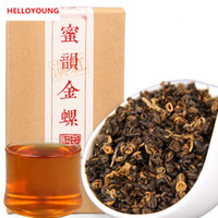 Preferenza 200g Yunnan Dianhong tè nero Kunming Early Spring Miele Rhyme Oro Vite Red Tea Salute New cotto Tea Green Food