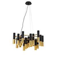 Ike mental pipe hängande lampa modern takljus fixtur enkel ljuskrona ny för livin rum matsal hotell heminredning pa0109