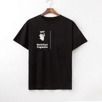 Famoso mens t shirt pólos homens mulheres letra impressão de manga curta moda homens estilista casual pescoço redondo T-shirt tamanho M-XXL