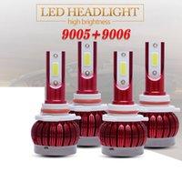 자동차 조명 MINI LED 헤드 라이트 키트 전구 높은 낮은 빔 콤보 9005 9006 6000K 22000LM
