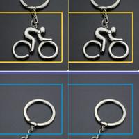 Nueva manera caliente llavero Llavero de las manillas del anillo dominante de la joyería del sostenedor del metal de la UA