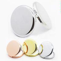 Schminkspiegel Mini Damen Mädchen Tasche Kosmetikspiegel Mode Doppelseite Folde Compact Spiegel schnelles verschiffen F1018