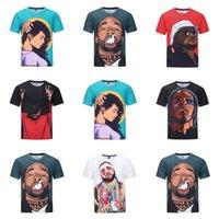 2018 Neue Fashin Witzige Männer-3D T-Shirts Slim Fit Short Sleeve Sommer Shirts Coole Street für Männer 3D Printed Kleidung Plus Size