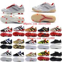 2019 hombre de fútbol de fútbol depredador acelerador electricidad fg tr soccer zapatos depredador precisión fg x beckham césimbol botas de fútbol interior nuevo