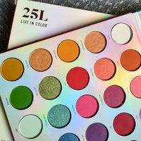 Brand 25L LIVE IN COLOR Eye shadow Palette 25 Colors Eye sha...