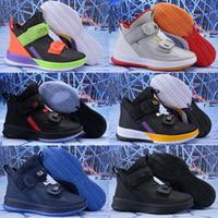 2019 Moda Jame Asker 13 XIII Üçlü Siyah Altın Buz Mavi Erkek Basketbol Ayakkabı Askerler 13 S Çekme Ayakkabısı Spor Sneakers 40-46
