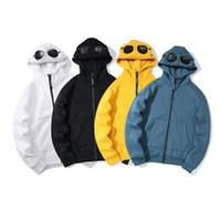 2020 Avrupa'nın en son erkek kazak rahat kazak CP erkek hoodie rüzgarlık göz hırka erkek hoodie ceket palto