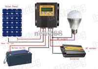 Freeshipping 20A MPPT الشمسية المسؤول عن المراقب المالي للطاقة الشمسية منظم 15-30 ٪ أكثر قوة 12V / 24V لنظام لوحة الخلايا الشمسية