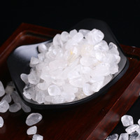 wholesale 100g Natura White crystal Stone Rock Chips Specime...