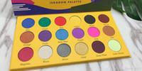 크레용 아이 섀도우 iShadow 팔레트의 2019 BOX 18 컬러 쉬머 매트 아이 섀도우 팔레트 메이크업 눈 무료 DHL 그림자