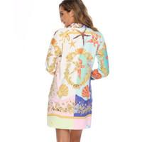 110 Femmes Salopette, Robes simples, barboteuses jupe robe à fleurs avec manches robes nuevo estilo para chicas vestido mujeres wt19