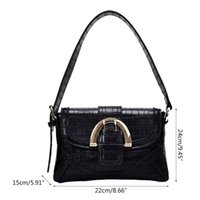 Girls PU Handbag Flap Bags Ladies Shoulder Bag Satchel Tote ...