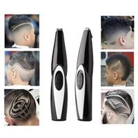 充電式ヘアカービングトリマーのクリッパーコードレス理髪穴カットスタイリングツールキットの理髪ハサミ