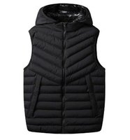 Fast Shipping Jacket Marca Inverno Mens FreeStyle Vest clássico Mens de Down coletes com Branded Letters Luxo Homens Mulheres Colete