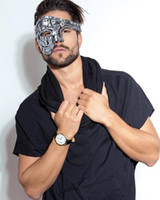 Neue Ankunfts-Kostüm-Maske Weinlese Steampunk-halbe Gesichts-Halloween-Party-Maskerade-Masken-Ober Half Face