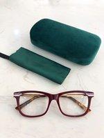 2020 G05240 qualità Newarrival occhiali tempio struttura della plancia + striscia di metallo 54-17-140 per la prescrizione bicchieri pieni-set caso all'ingrosso