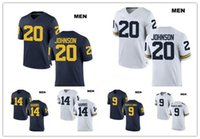 662a24339 2019 NCAA Michigan Wolverines  9 Donovan Peoples Jones 88 Jake Butt ...
