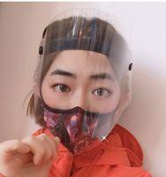 ABD Şeffaf Koruyucu Anti-Fog Yüz Kalkanı Tam Yüz İzolasyon Visor Koruma Tam Yüz Önlemek Splashing damlacıkları Güvenliği Maske
