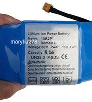 36V 5.2Ah Lithium ion rechargeable avec batterie et chinois 18650 BMS pour HA001 pour hoverboard électrique auto scooter équilibre