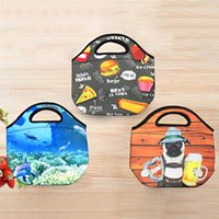 Cute 3D Animals Lunch Bag For Children Kids Cartoon Thermal ...