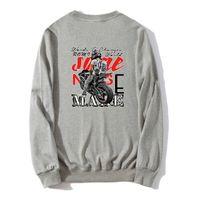دراجة نارية بلوزات ربيع الخريف ذكر الرجال عادية بلوزات هوديس القطن البلوز للجنسين الهيب هوب رقيقة عرق أوم