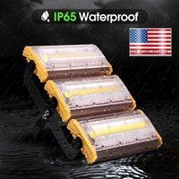 "USA Stock Led Außenbeleuchtung Wärmeableitung Aluminium 150W Flutlicht Warm White Modul 110V Modulare LED-Flutlicht 14"" Headl"