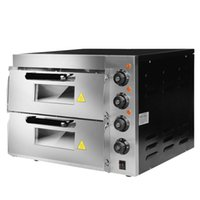 HL2PT Forno elettrico commerciale doppia torta pane grande forno cottura elettrica a due strati pizza a due strati ad alta temperatura elettrodomestici da cucina