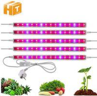 LED Grow Light Spectrum 5730 T5 Tubo LED Lâmpada de Planta Interior Lâmpada Hidropônica Sistema Hidropônico LED Grow Tent Lamps para Plantas