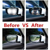 Car Rearview Mirror Protective Film Anti Fog Window Clear Ra...