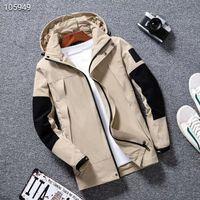 concepteur de veste design-mode des hommes Manteau nouvelle production Veste à capuche avec des lettres Windbreaker Zipper Sweats à capuche pour les hommes Sportwear Hauts Tissu
