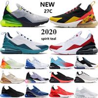 Nuevos 270s zapatos para correr para hombre espíritu Seattle Away teal Bred blanco universidad rojo Oil Grey hombres mujeres zapatillas de deporte EE. UU. 5.5-11
