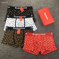 mens underwears boxers Soft Mens Boxers Brief Letter Underpa...