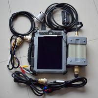 V12 / 2014 MB ESTRELA C3 Multiplexer com soft-ware instalar tablet IX104 PC 4G SD Ligue C3 carro ferramenta de diagnóstico pronto para uso