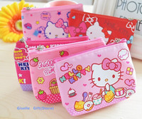 Hello Kitty Canvas HAND Coin Purse Kawaii Mini 12*10CM Walle...