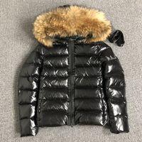 Femme Down Veste Hood Hood Sashes Hiver Parkas Blanc Canard Downs Downs Raccoon Noir Femmes Bomber S-XL (UK S = L)