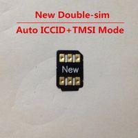 GRÁTIS DHL Double-Sim Desbloquear cartão para iOS 14.x todo o iphone e gsm wcdma lte 4g auto pop-up menu turbo sim gevey