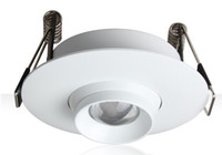 100-240VAC-Eingang 3W Embedded-LED-Zoom-Spot-Lampe, eingebaut in 10 bis 60 Grad Zoomable Deckenleuchte, dimmbare LED Mini-Spot-Licht LLFA