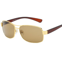 New Fashion occhiali da sole uomo Brand Designer occhiali da sole donna occhiali da sole 3379 Glass Lens Occhiali da sole occhiali unisex con scatole Top Free Ship