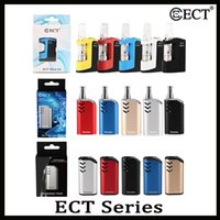 100% ursprünglicher ECT Mico Musketeer Host-Master Kit vorheizen Variable Voltage 510 Gewinde Batterie dickes Öl Box Mod Cartridge Vaporizer Vape Kits