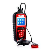 KONNWEI KW850 OBDII EOBD CAN السيارات التشخيص ماسحة مع LED المؤشر - أسود
